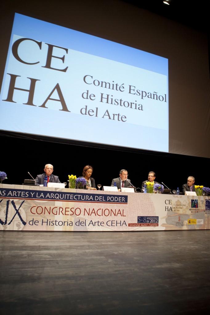 Inauguración del XIX congreso nacional de historia del arte Checa